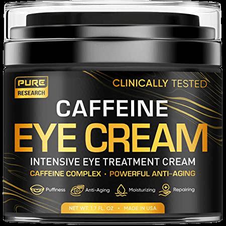 6 PURE RESEARCH Caffeine Eye Cream