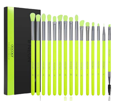 Decolor_15_pcs_Neon_Green_Eyeshadow_Brush_Set-removebg-preview