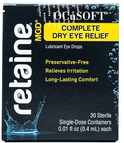 Ocusoft Retaine MGD Ophthalmic Emulsion