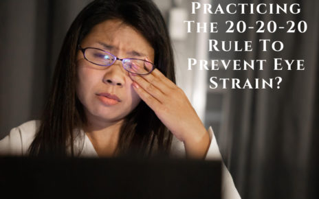 Practicing The 20-20-20 Rule To Prevent Eye Strain