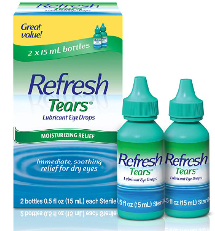 Refresh Tears Lubricant Eye Drops - Dry Eyes After LASIK